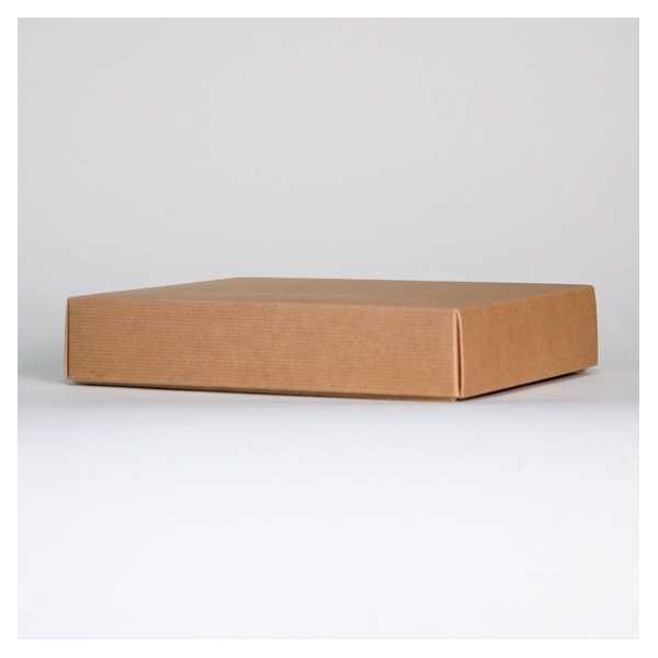 Two piece kraft box