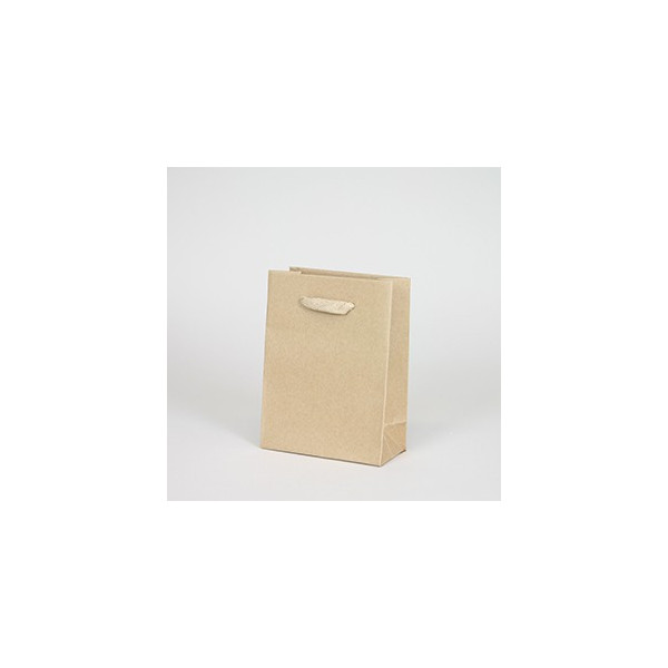 Recycled kraft bag (12x16x6cm)