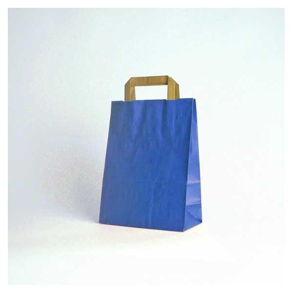 Colored Kraft Flat handles bag