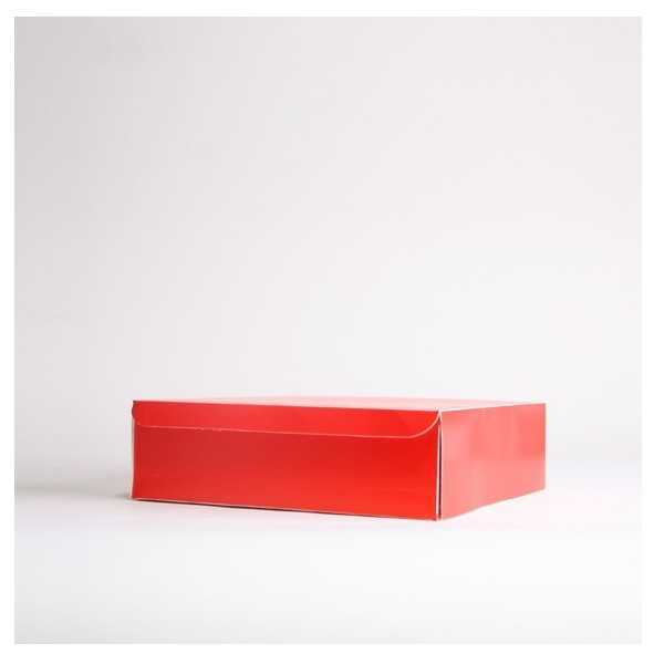 HOMER (13x13x8cm) rouge