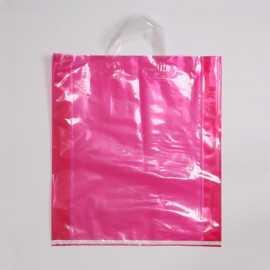 Durchscheinende Plastiktüte LUS FLUO