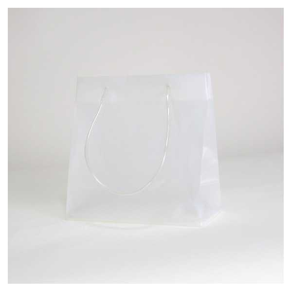 SAC PLASTIQUE NOBLESSE 25 25 - TRANSPARENT - Centurybox