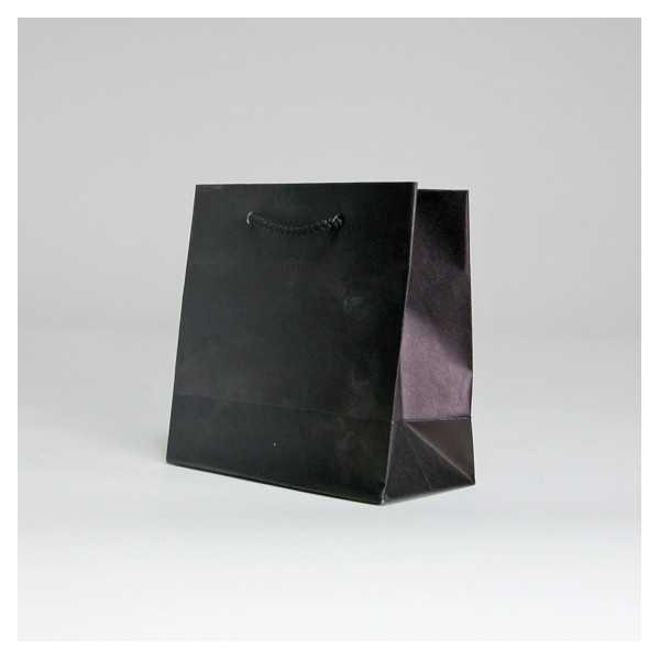 SAC PAPIER NOBLESSE KRAFT 16 16 - NOIR - Centurybox