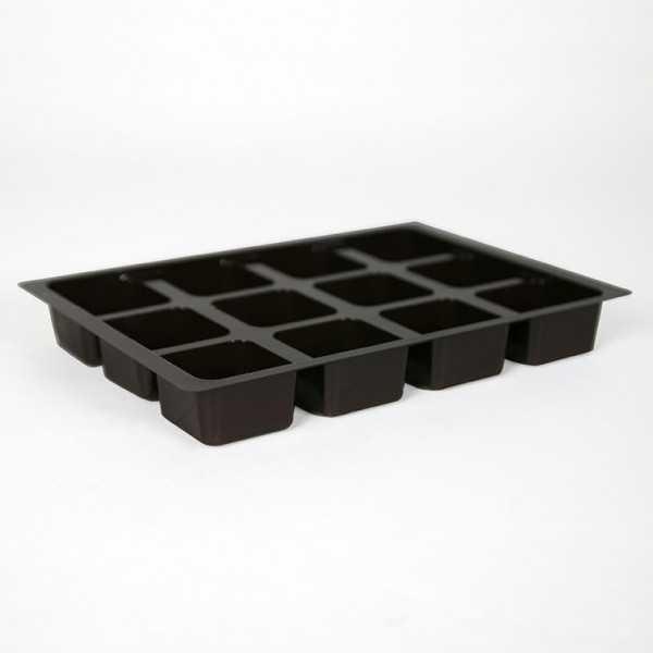 Calage et coussinet (22x15,5x3 cm)