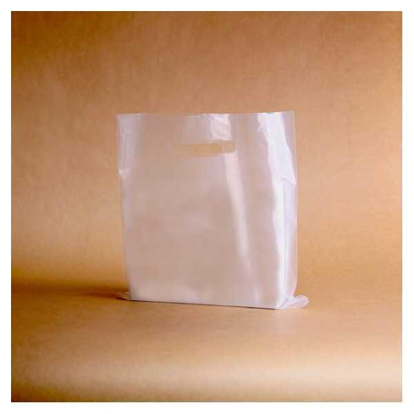 Die cut plastic bag 100
