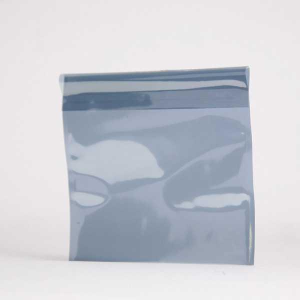 POCHETTE Metal translucide argent 165X165