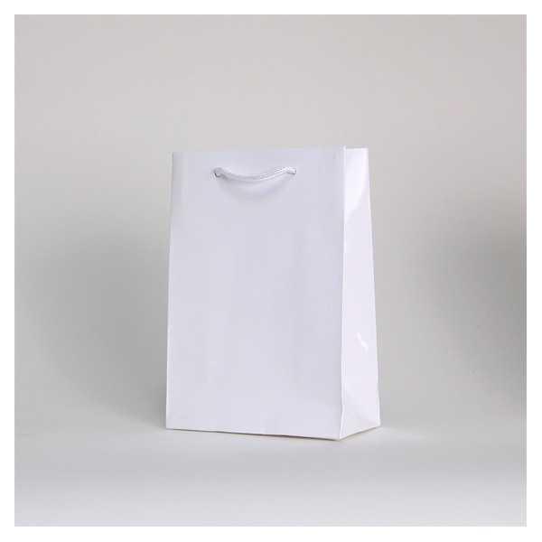Papieren draagtas NOBLESSE geplastifieerd