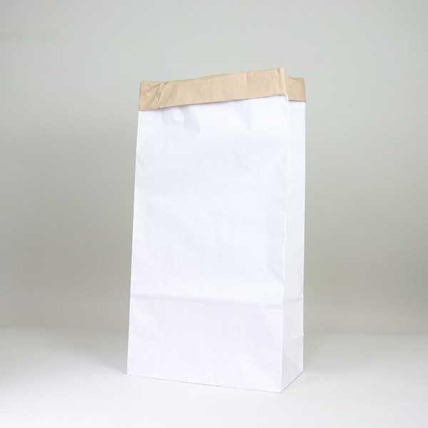 voedsel achtergrond papieren zak