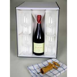 Cuña Caja para 3x botella