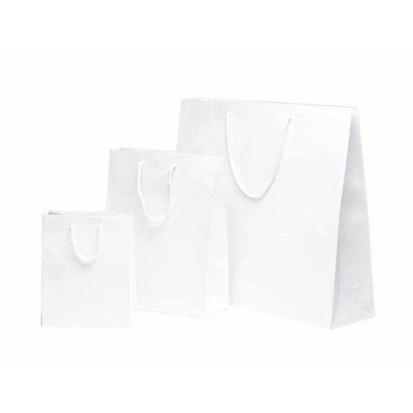Paper Bag Noblesse White Kraft