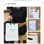 WE LOVE IT Thanks to @emilieduchene ❤️#emilieduchene #teajewerly #weloveit #centurybox #packaging #packagingdesign