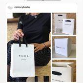 WE LOVE IT Thanks to @emilieduchene ❤️#emilieduchene #teajewerly #weloveit #centurybox #packaging #packagingdesign