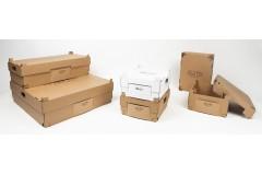 Caja de comida apilable para entrega